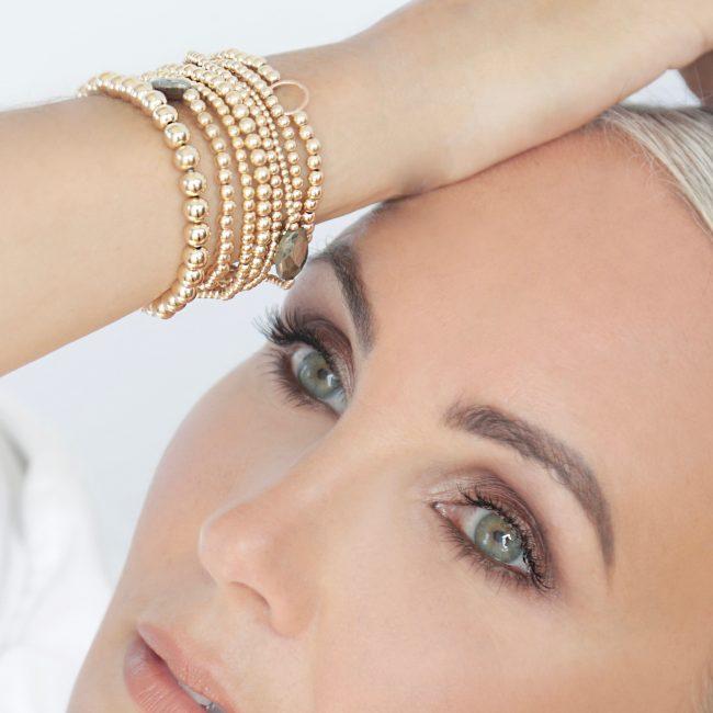 Indy & Noa goldfilled armbanden