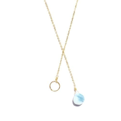 Indy & Noa Opal & Circle of Life necklace