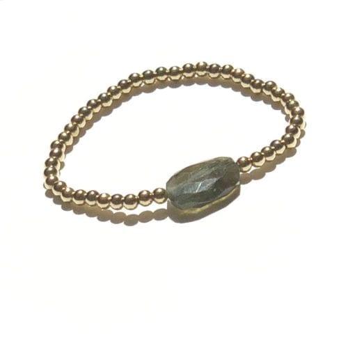 goldfilled Labradorite bracelet