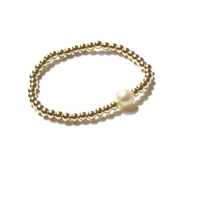goldfilled Pearl bracelet