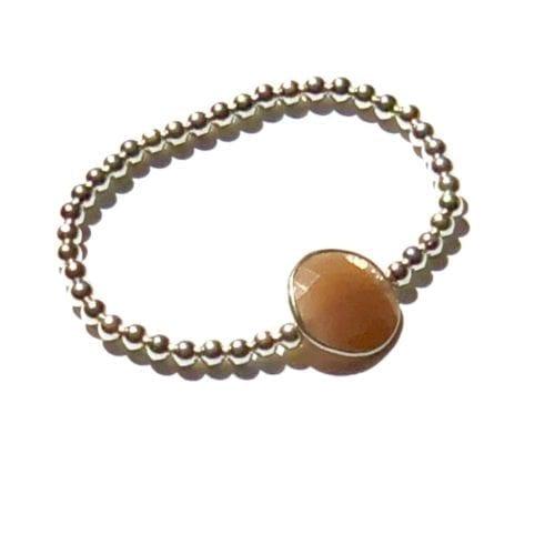 Indy & Noa orange Moonstone bracelet