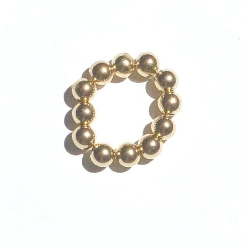 Indy & Noa goldfilled smooth ring