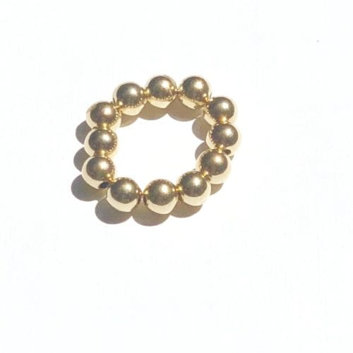 Indy & Noa goldfilled effen ring