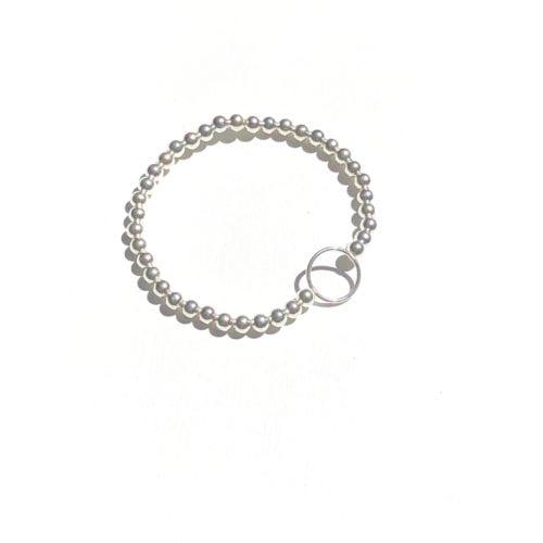 Indy & Noa silver Circle of Life bracelet