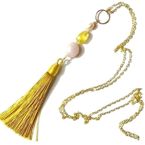 Indy & Noa Tassel necklace