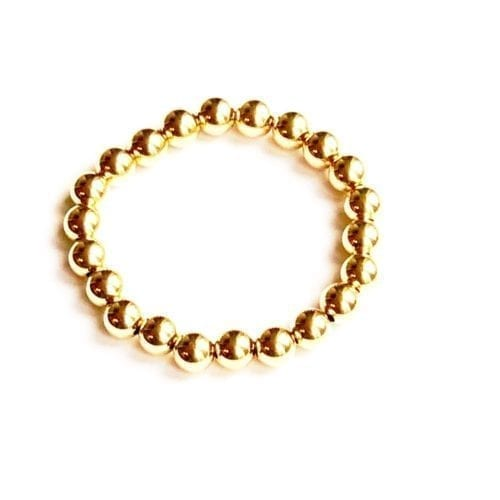 Indy & Noa Goldfilled plain bracelet