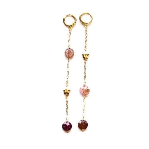 Indy & Noa Tourmaline earrings
