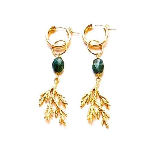 Indy & Noa Mix and Match Tourmaline earrings