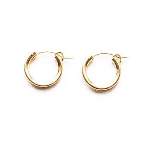 Indy & Noa goldfilled hoops