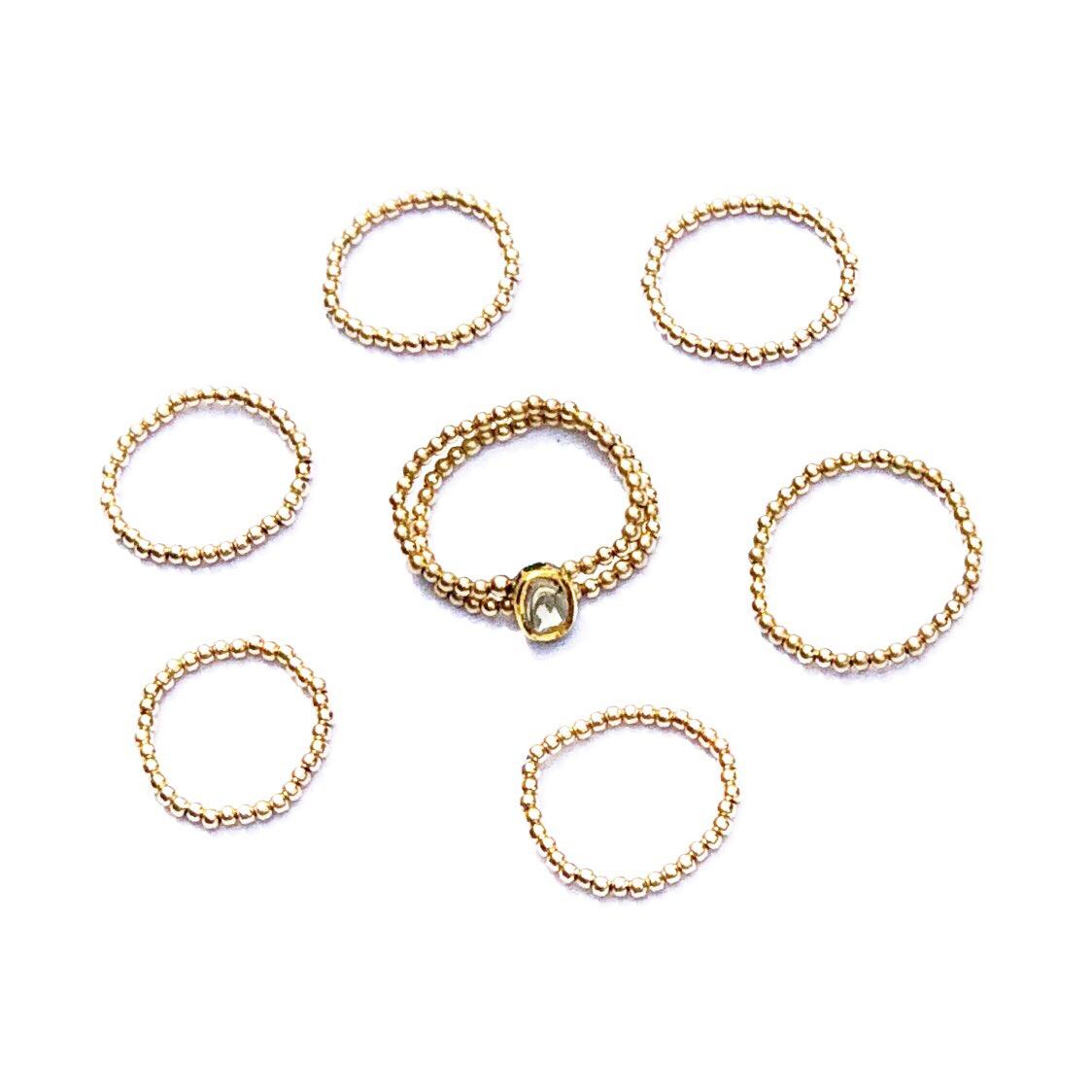 Indy & Noa rosecut Diamond ring