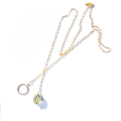 Indy & Noa goldfilled Tourmaline necklace
