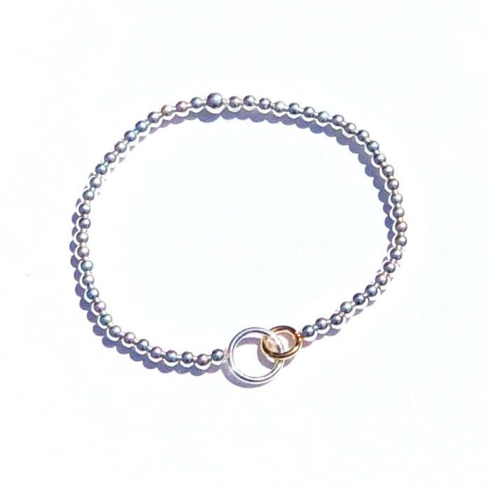 Spiksplinternieuw Moeder-Dochter zilveren armband - Indy&Noa PZ-29
