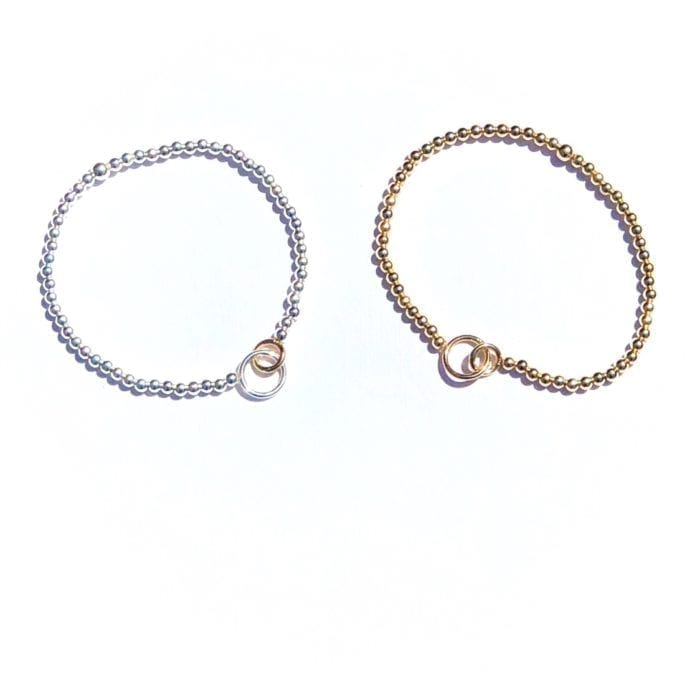 Connected as we are 14K goldfilled bracelet