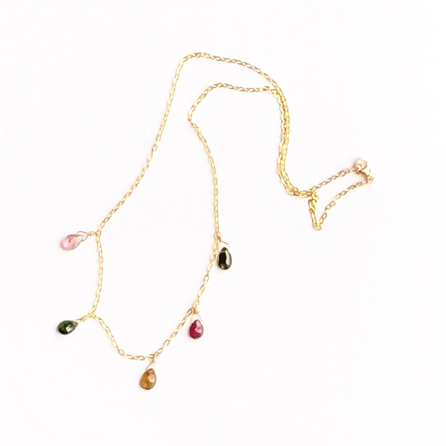 Indy & Noa Tourmaline necklace
