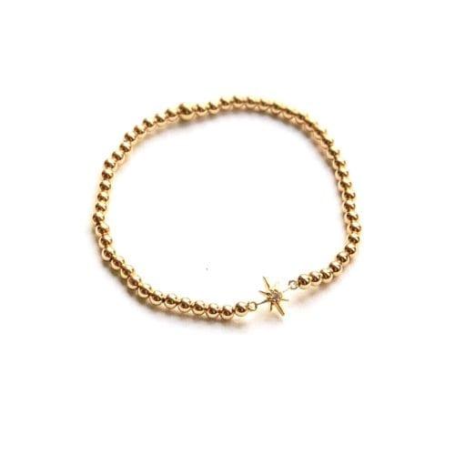 Indy & Noa goldfilled Swarovski ster bracelet