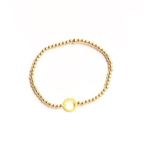 Indy & Noa goldfilled Circle of Life bracelet