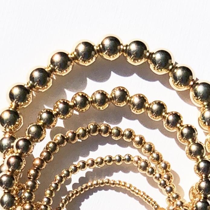 Plain goldfilled bracelet 2,3,4,6,8mm
