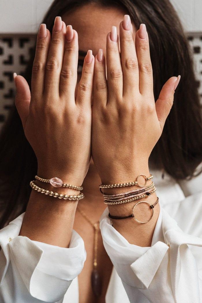 Indy & Noa goldfilled bracelets
