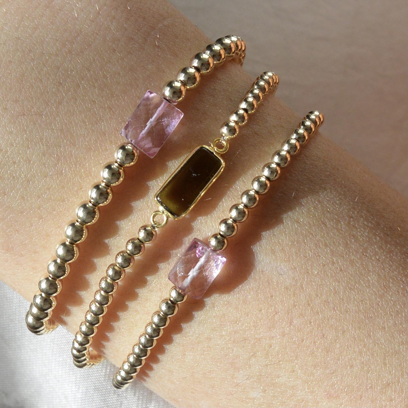 I&N Tourmaline bracelets
