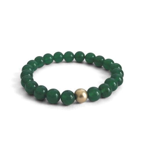 Indy & Noa green Onyx bracelet