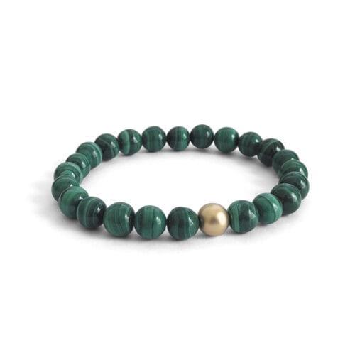 Indy & Noa Malachite bracelet