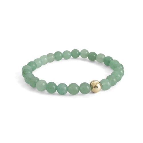 Indy & Noa Aventurine bracelet