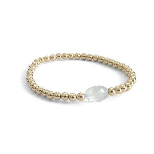 Indy & Noa Aquamarine bracelet